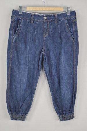 Mexx Jeans 3/4 Jeans mit verzierten Taschen blau Größe W29
