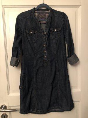 Mexx Denim Dress dark blue