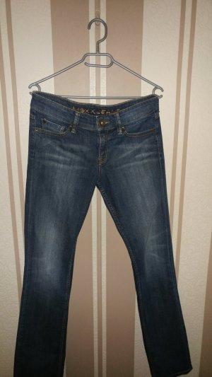 Mexx Jeans a gamba dritta blu scuro