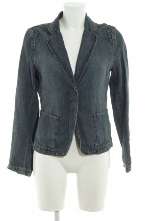 Mexx Denim Blazer slate-gray jeans look