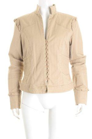 Mexx Jeansjacke beige Street-Fashion-Look