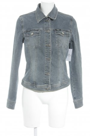 Mexx Denim Jacket slate-gray simple style