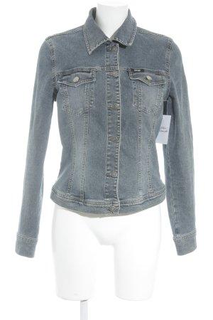Mexx Jeansjacke graublau schlichter Stil