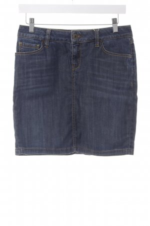 Mexx Jeansrock blau Washed-Optik