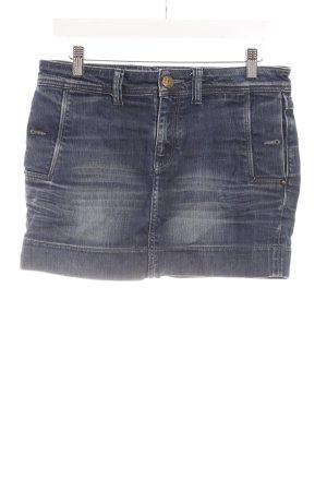 Mexx Jeansrock dunkelblau Jeans-Optik