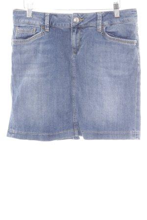 Mexx Jeansrock stahlblau Jeans-Optik