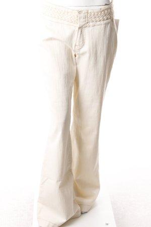 Mexx Jeansschlaghose cremefarben