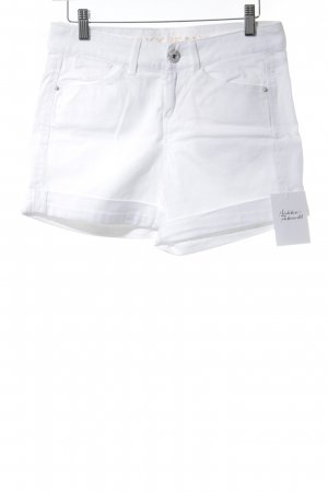 Mexx Short en jean blanc cassé style simple