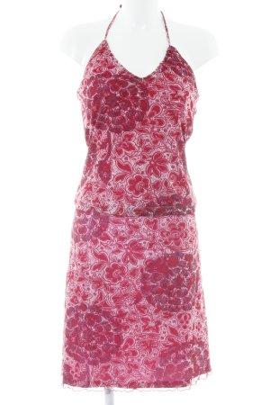 Mexx Jersey twin set roze bloemen patroon extravagante stijl