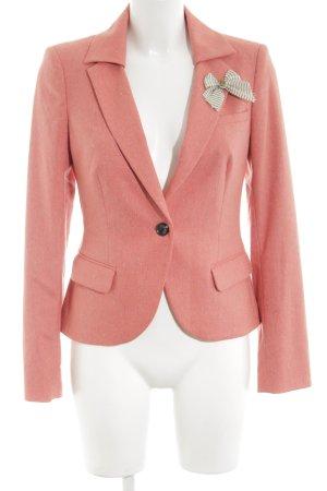 Mexx Jerseyblazer pink meliert Business-Look