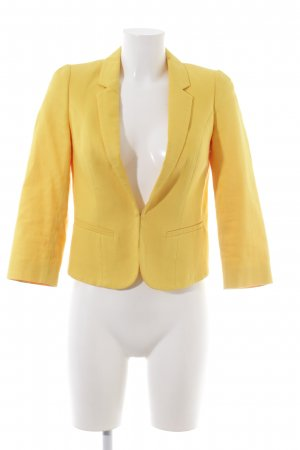 Mexx Jerseyblazer blassgelb Business-Look