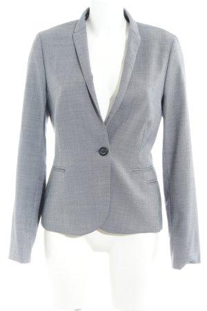 Mexx Jerseyblazer graublau Hahnentrittmuster klassischer Stil