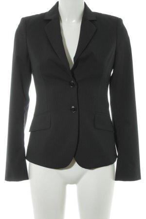 Mexx Jersey Blazer negro-gris raya diplomática estilo «business»