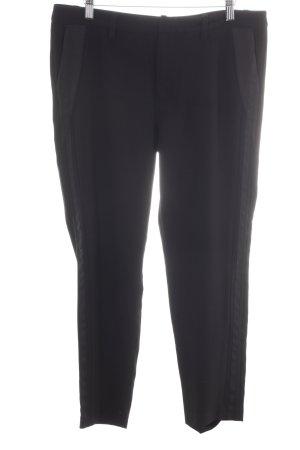 Mexx Pantalone peg-top nero stile professionale