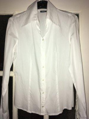 Mexx Shirt met lange mouwen wit Katoen