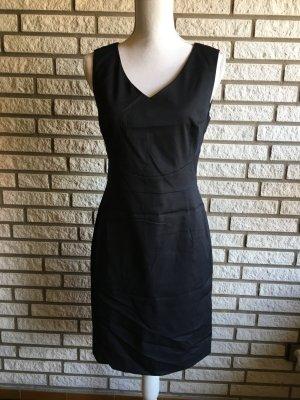 Mexx Kleid dunkelblau Nadelstreifen 36