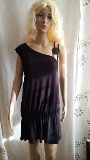 MEXX Kleid schwarz asymetrisch Gr. XL