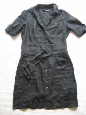 mexx kleid sommerkleid leine neuwertig gr. s 36 schwarz blusenkleid