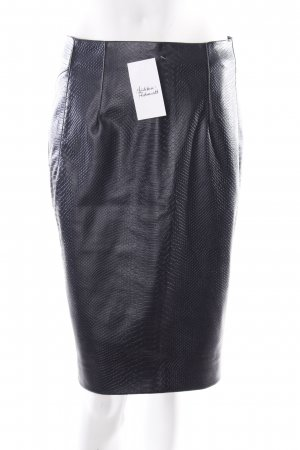Mexx Jupe en cuir synthétique noir style festif