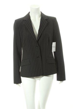 Mexx Short Blazer brown-white striped pattern business style
