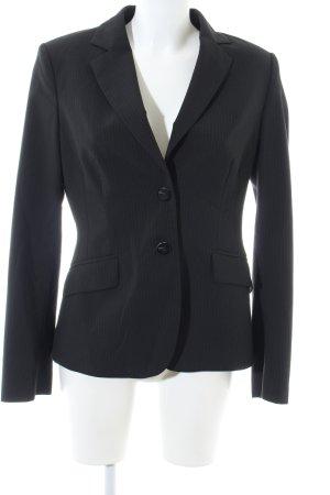 Mexx Kurz-Blazer schwarz Streifenmuster Business-Look