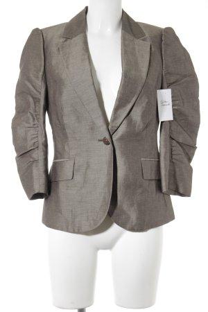 Mexx Blazer court gris brun style d'affaires