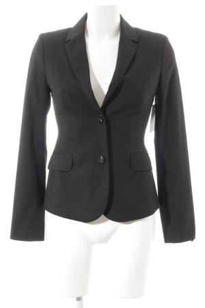Mexx Kurz-Blazer schwarz-silberfarben Business-Look