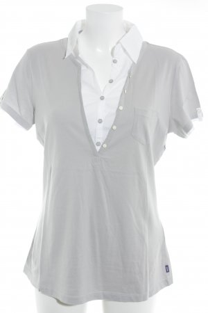 Mexx Short Sleeve Shirt light grey-white business style