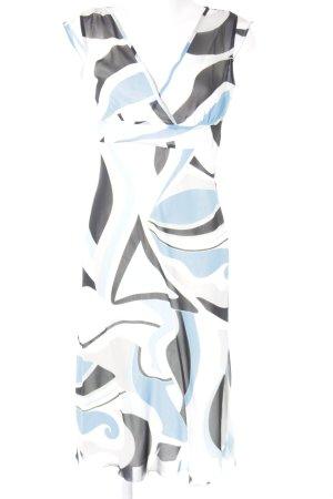 Mexx Kurzarmkleid abstraktes Muster
