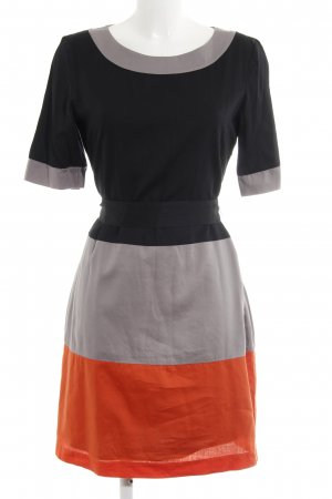 Mexx Kurzarmkleid Colourblocking Casual-Look