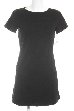 Mexx Kurzarmkleid schwarz Brit-Look