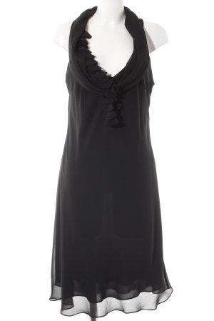 Mexx Kurzarmkleid schwarz schlichter Stil