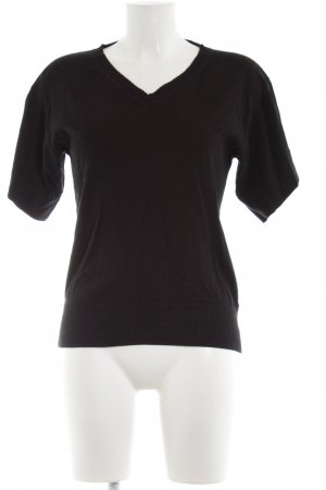 Mexx Short Sleeve Sweater black elegant