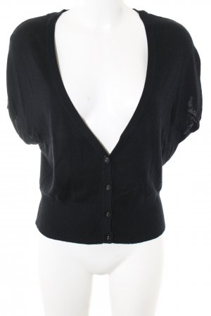 Mexx Short Sleeve Knitted Jacket black casual look