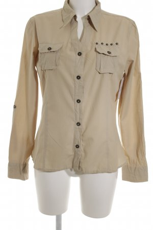 Mexx Langarm-Bluse beige Casual-Look