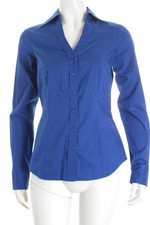Mexx Langarm-Bluse blau Business-Look