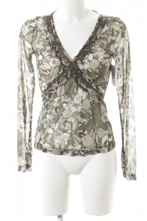 Mexx Langarm-Bluse florales Muster Casual-Look