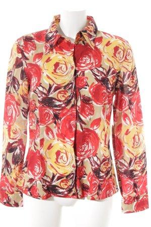 Mexx Langarm-Bluse mehrfarbig Vintage-Look