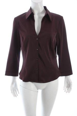 Mexx Langarm-Bluse purpur Eleganz-Look