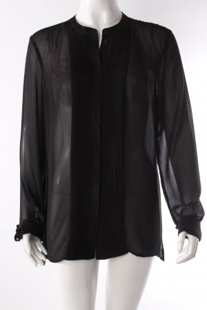 Mexx Langarm-Bluse transparent