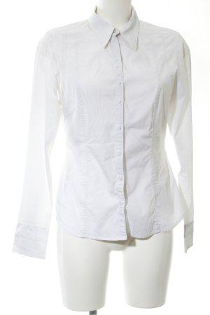 Mexx Camisa de manga larga blanco estilo «business»