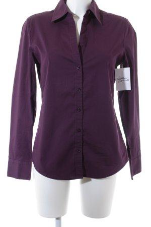 Mexx Chemise à manches longues violet foncé style décontracté