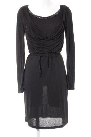 Mexx Langarmkleid schwarz Elegant