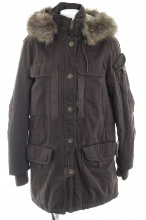 Mexx Long Jacket brown casual look