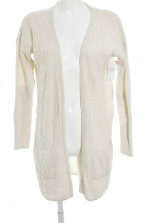 Mexx Lange Jacke creme Casual-Look