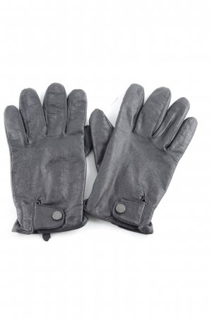 Mexx Leather Gloves black casual look