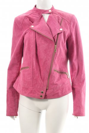 Mexx Giacca in pelle rosa