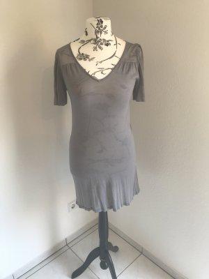 Mexx Robe en maille tricotées gris clair