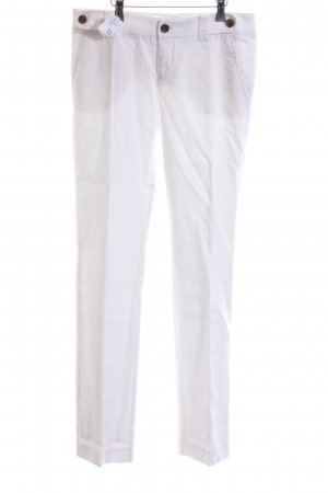 Mexx Linen Pants white casual look
