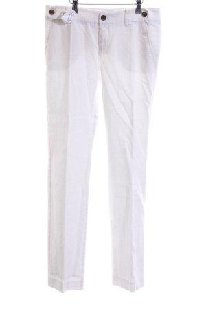 Mexx Linnen broek wit casual uitstraling